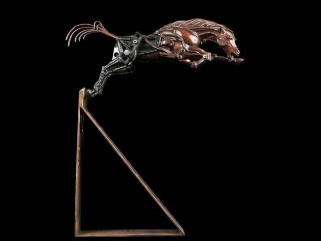 Steampunkowe rzeźby 8
