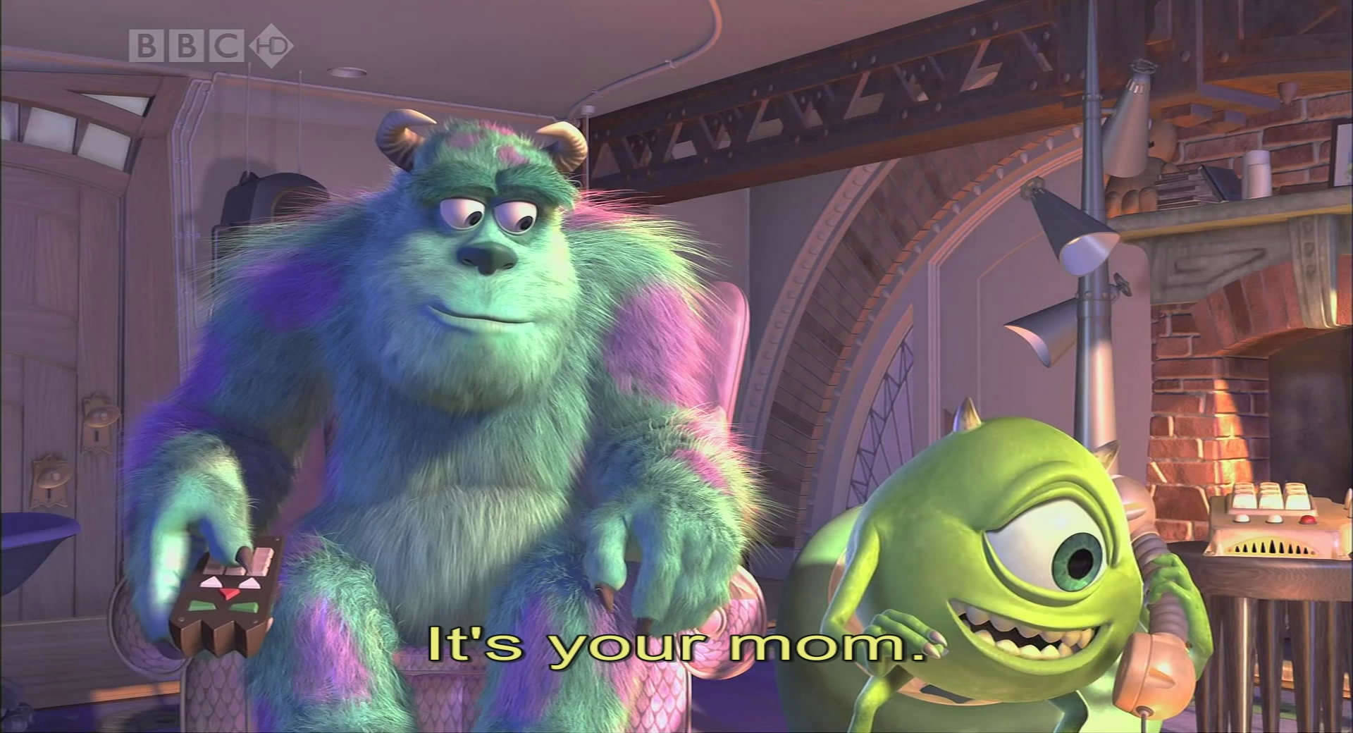 Monster Inc 2001 nHD 1080p x264 NhaNc3 preview 4