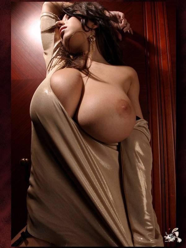 Огромные сексуально привлекательные и красивые сиськи 6-го размера.