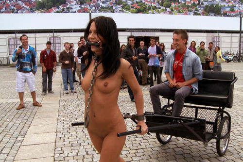 Amabella - Ride the Pony - Kink/ PublicDisgrace (2011/ HD 720p)