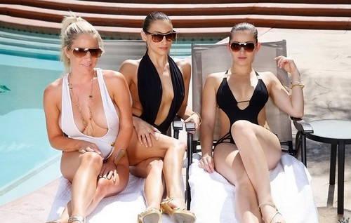 Celeste Star, Dani Daniels, Ainsley Addison - WeLiveTogether - Pool time (2012/HD/2.71 GiB)