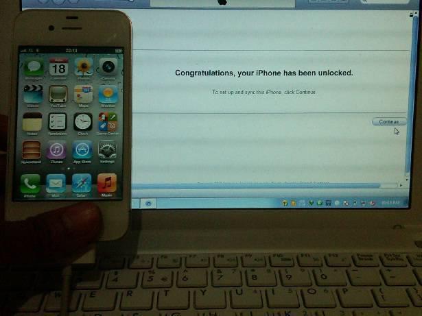Jasa unlock (FU) semua jenis iphone khusus AT&T (Bandoeng)