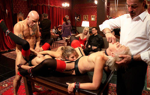 Slave Initiation Buttons - Kink/ TheUpperFloor (2012/ HD 720p)