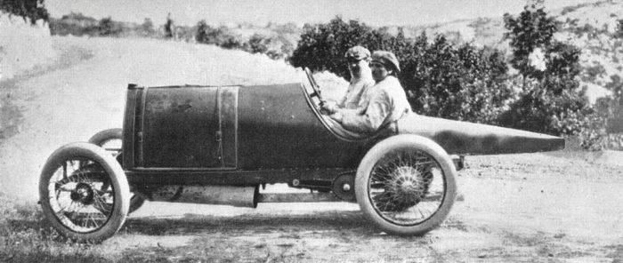 Pierwsze wyścigi samochodowe 42