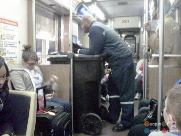 Najdziwniejsi pasażerowie 23