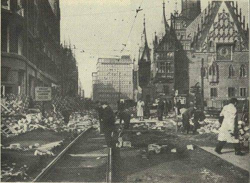 Wrocław  1945 Zniszczenia 68