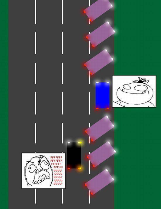 FFFFUUUU na drodze 9