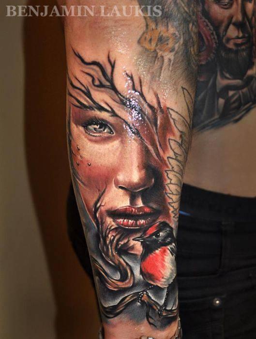 Artystyczne tatuaże 51