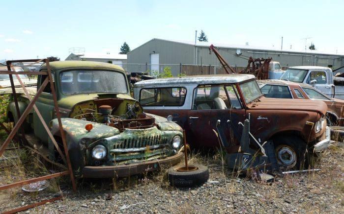 Cmentarzysko samochodów #2 30