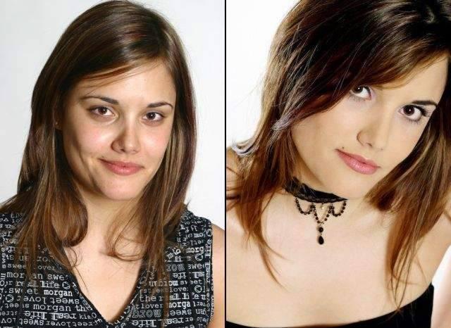 Ile zmienia dobry makijaż? 10