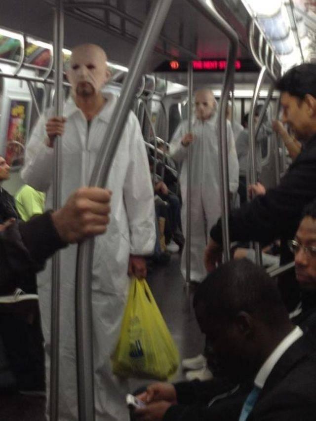 Najdziwniejsi ludzie w metrze 12