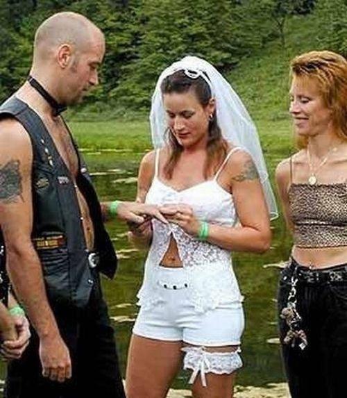 Najdziwniejsze zdjęcia ślubne 17