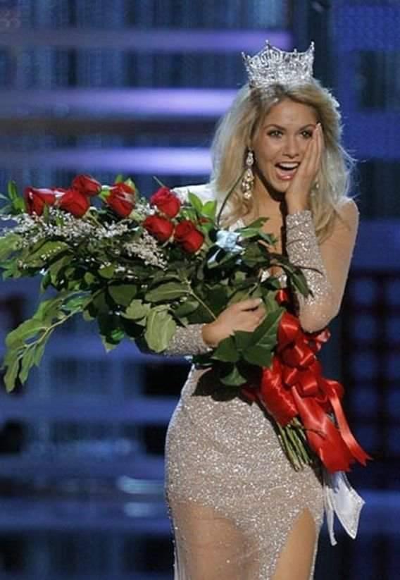 Reakcje Miss piękności 8