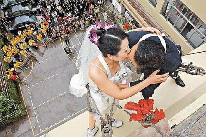 Najdziwniejsze śluby #3 4