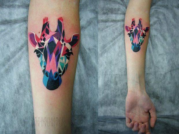 Świetne tatuaże - Sasha Unisex 11