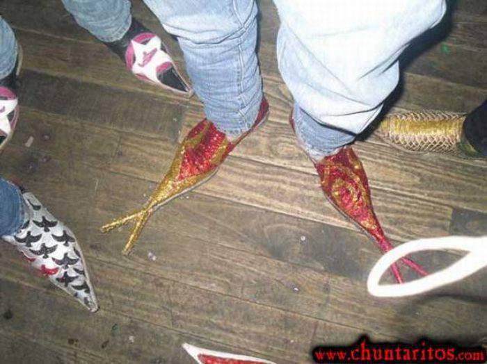 Dziwne buty 1