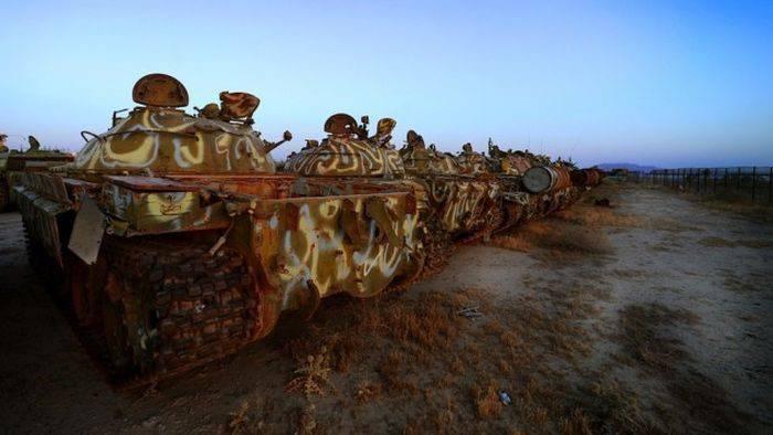 Cmentarzysko czołgów w Kuwejcie 4