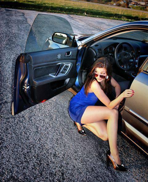 Dziewczyny i samochody #2 4