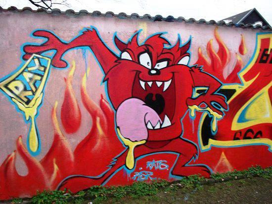 Graffiti - sztuka ulicy 30