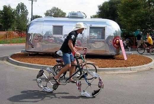 Najdziwniejsze rowery świata 12