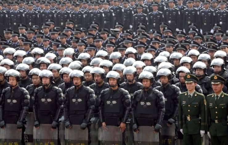 Chińskie służby pożądkowe 9