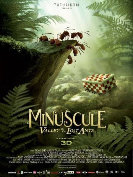 Minuscule The Valley Of The Lost Ants 2013 720p BRRiP XVID AC3 MAJESTIC