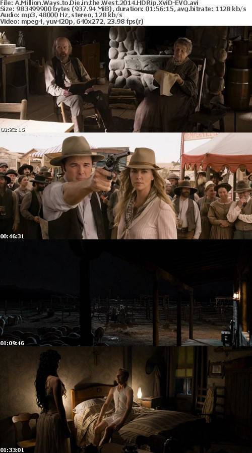 A Million Ways to Die in the West 2014 HDRip XviD-EVO