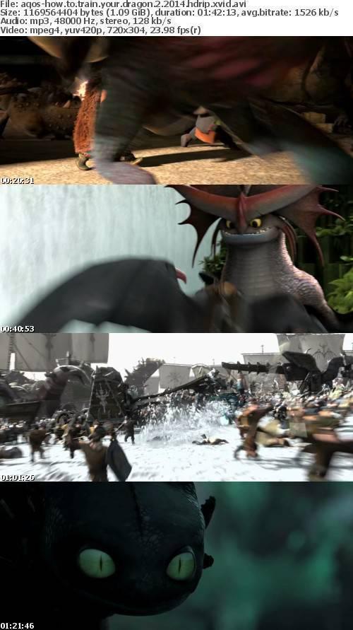 How To Train Your Dragon 2 2014 HDRip XviD-AQOS