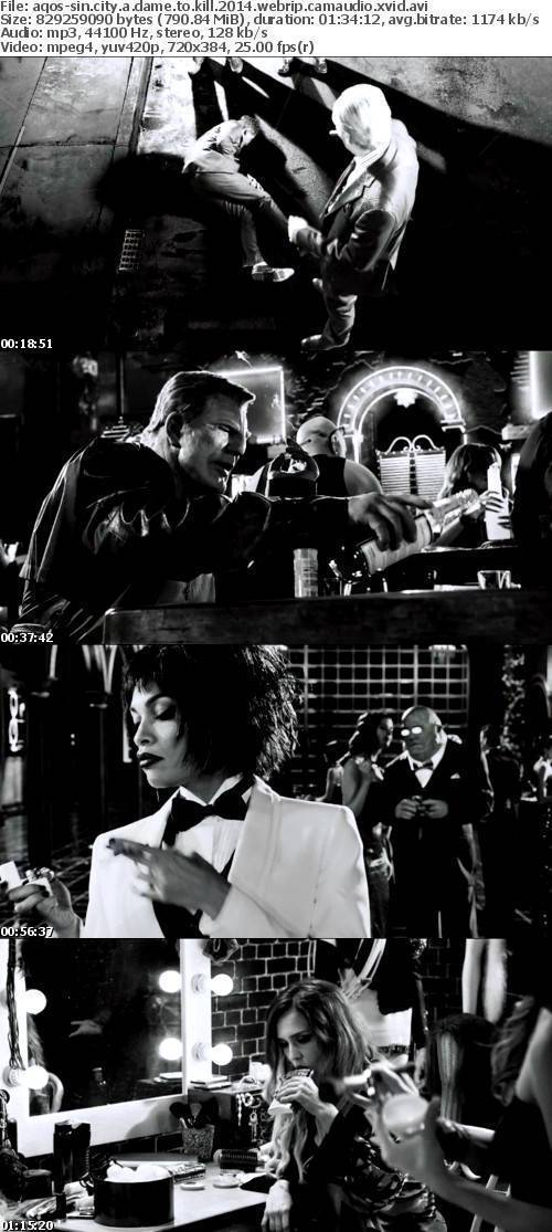 Sin City A Dame to Kill 2014 WEBRip CAMAUDIO XviD-AQOS