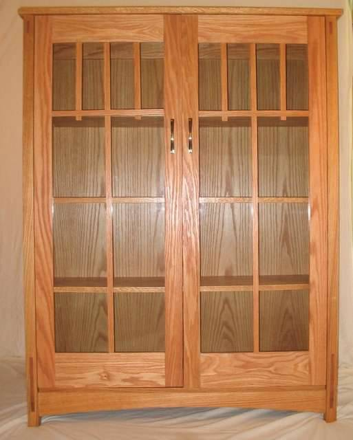 Craftsman style bookcase woodworking talk woodworkers for Craftsman style bookcase plans