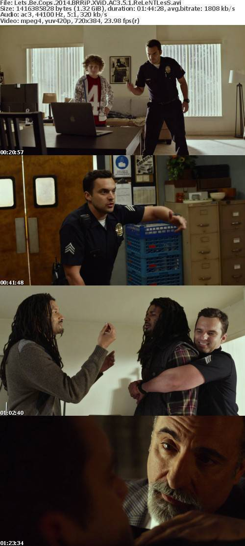 Lets Be Cops 2014 BRRiP XViD AC3 5 1 ReLeNTLesS