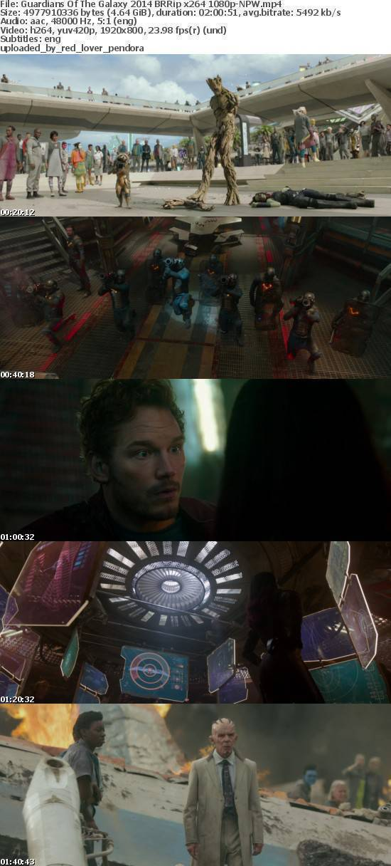 Guardians Of The Galaxy 2014 BRRip x264 1080p-NPW