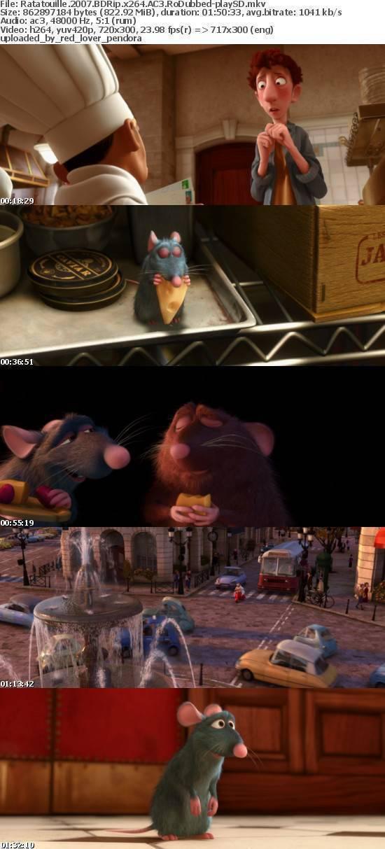 Ratatouille 2007 BDRip x264 AC3 RoDubbed-playSD