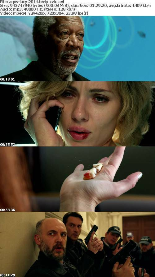Lucy 2014 BRRip XviD-AQOS