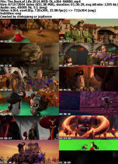 The Book of Life (2014) WEB-DL x264-RARBG