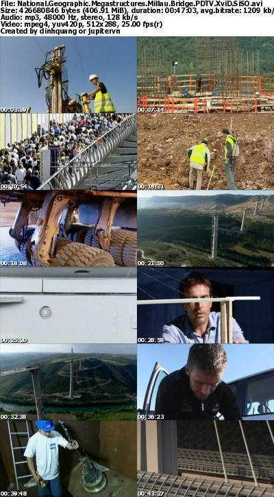 National Geographic - Megastructures: Millau Bridge (2006) PDTV XviD-SiSO
