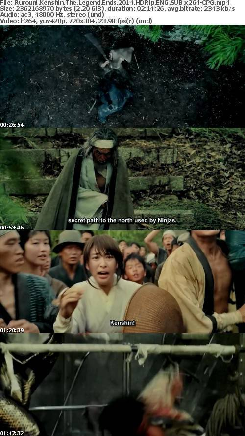 Rurouni Kenshin The Legend Ends (2014) HDRip ENG SUB x264-CPG