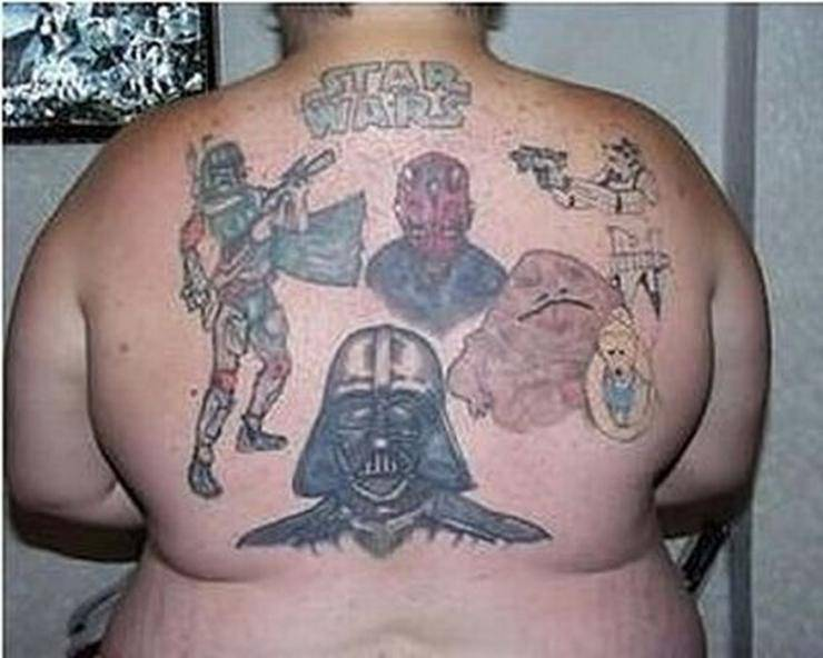 Szalone tatuaże #2 16