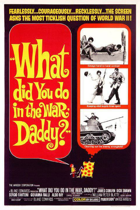 What Did You Do in the War Daddy 1966 480p BluRay x264