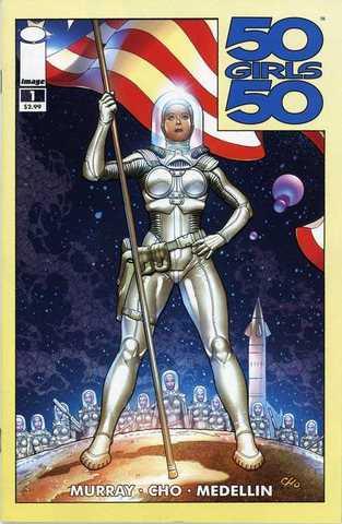 50 Girls 50 (komiks PL) 1-4 komplet