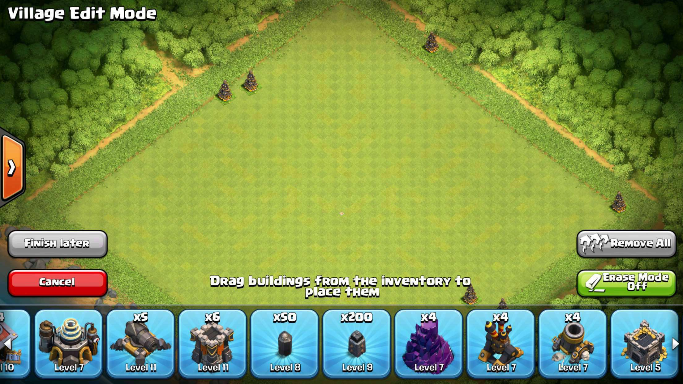clash of clans how to change account