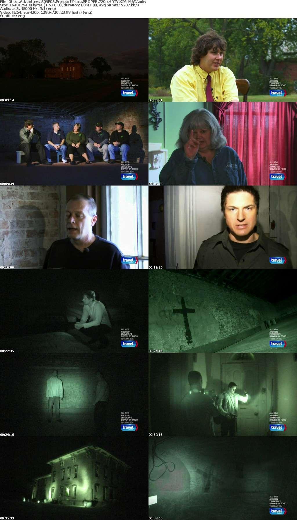 Ghost Adventures S03E08 Prospect Place PROPER 720p HDTV X264-UAV