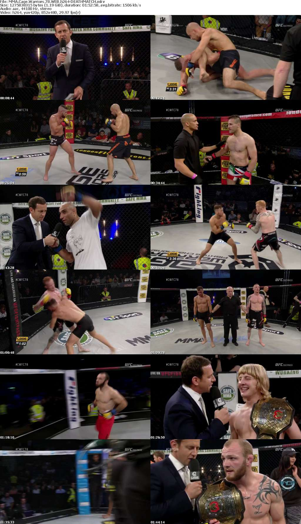 MMA Cage Warriors 78 WEB h264-DEATHMATCH