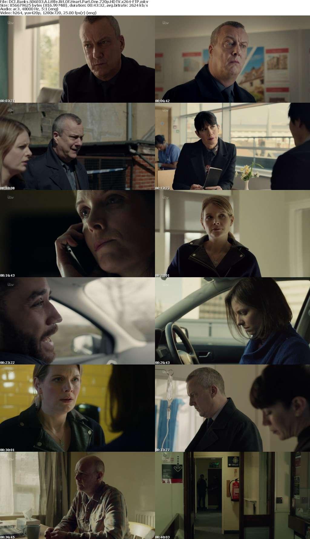 DCI Banks S06E03 A Little Bit Of Heart Part One 720p HDTV x264-FTP