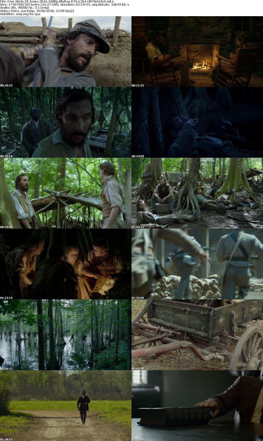 Free State Of Jones 2016 1080p BluRay DTS x264-HDMaNiAcS