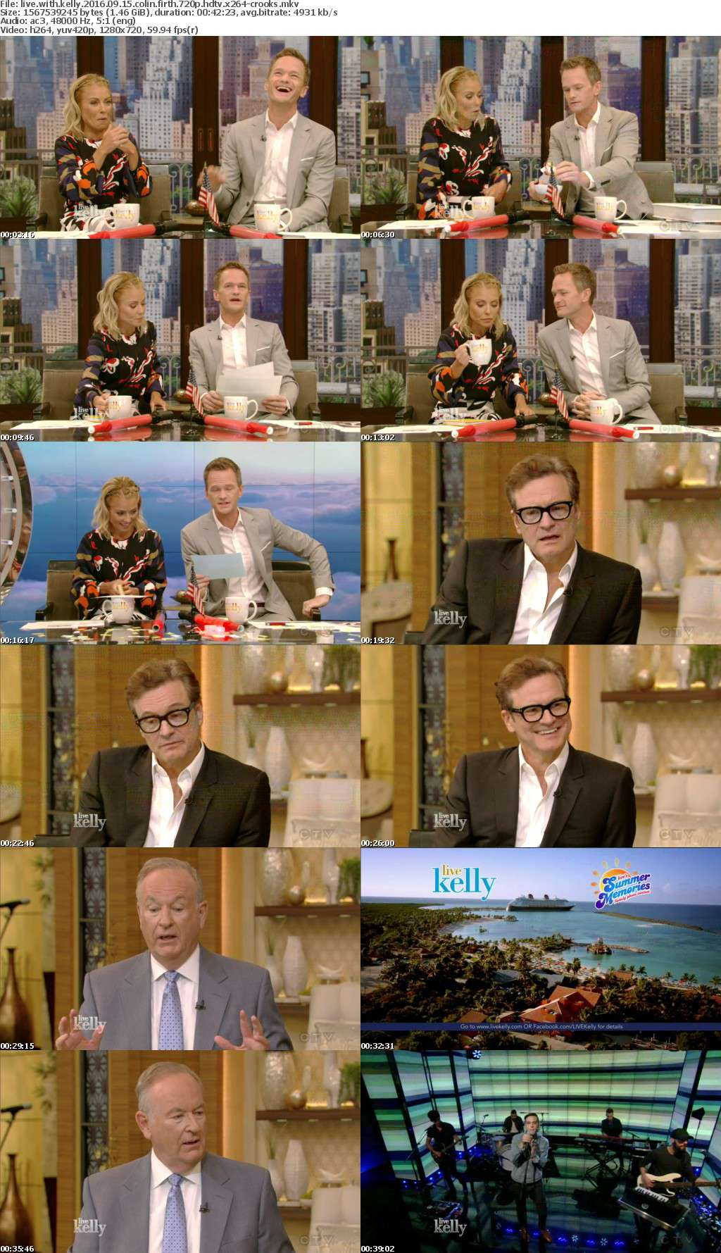 LIVE with Kelly 2016 09 15 Colin Firth 720p HDTV x264-CROOKS