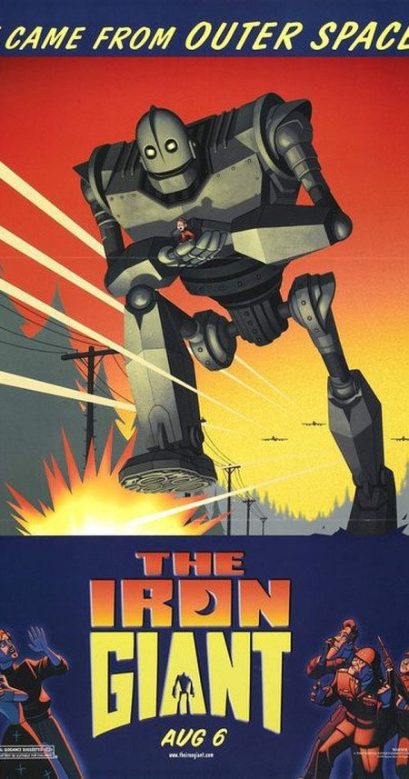The Iron Giant 1999 BD-Rip 1080p x265 ac3 6ch aac 2ch -Dtech