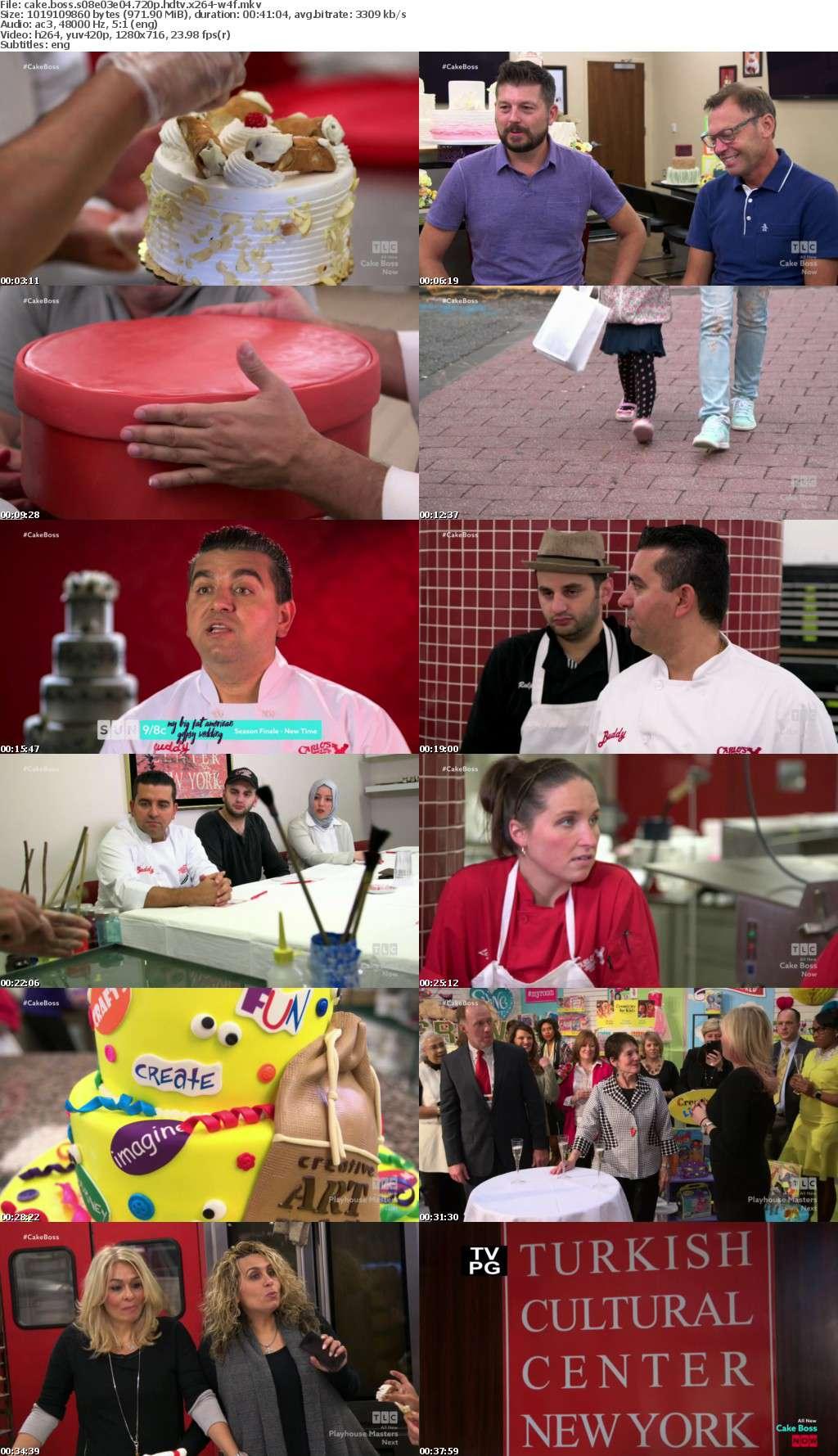 Cake Boss S08E03E04 720p HDTV x264-W4F