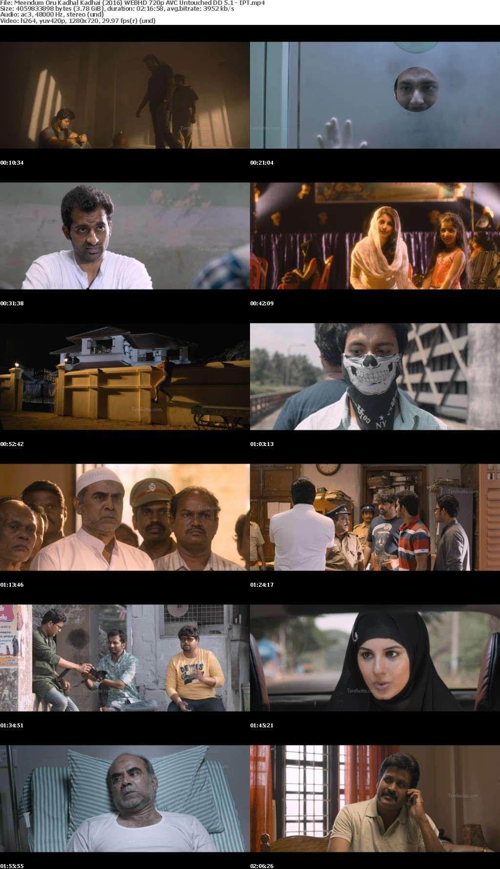 Meendum Oru Kadhal Kadhai (2016) WEBHD 720p AVC Untouched DD 5 1 -