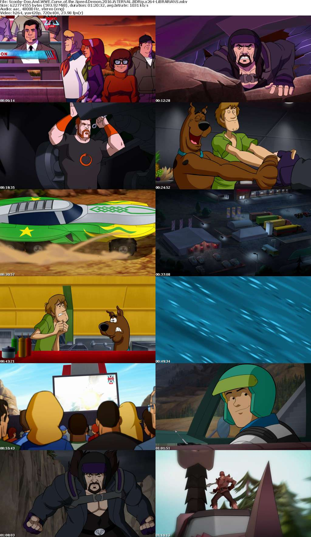 Scooby-Doo And WWE Curse of the Speed Demon 2016 iNTERNAL BDRip x264-LiBRARiANS